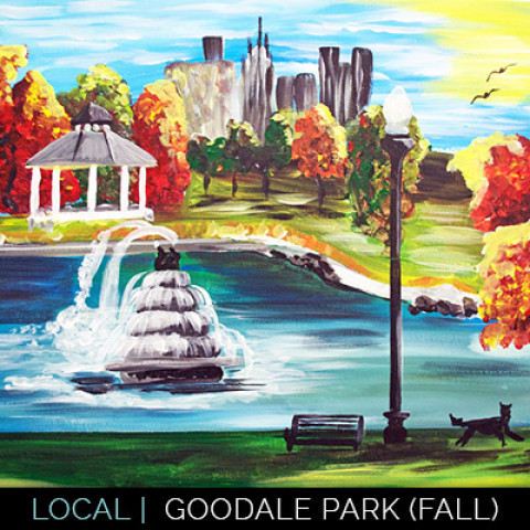 10/29: Paint Gooddale Park at 400 West Rich – OPEN CLASS