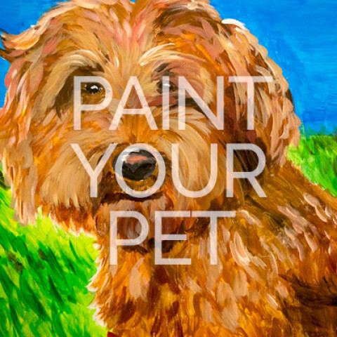 "July 16th, 2017: ""Paint Your Pet's Portrait"" for Friends of the Shelter @ Studio 614"