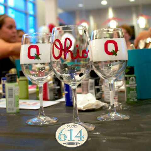 11/10: Pinterest Glass Painting at Mia Cucina – OPEN CLASS