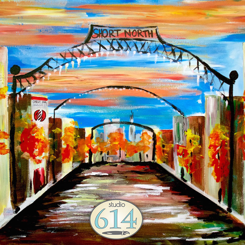 Painting Company Columbus Ohio: Paint The Short North Arches