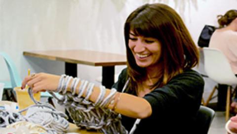 Infinity Scarf Knitting