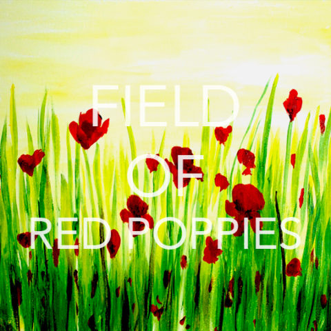 July 01st, 2017: Field of Poppies @ Studio 614