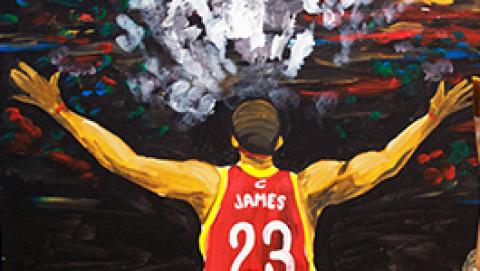 Paint LeBron