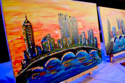 awesome-painting-class-columbus-skyline