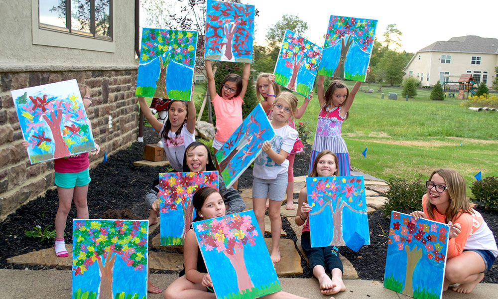 Kids Painting Parties - Studio 614