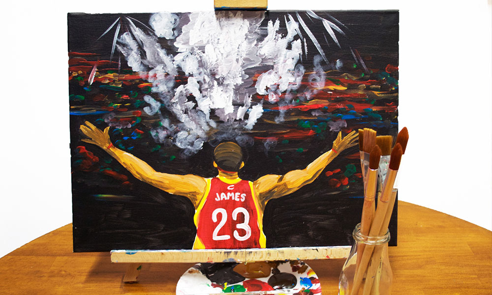 paint lebron studio 614