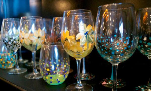 Wine Glass Painting Studio 614