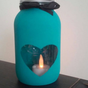 The Art Audit - Candle Holder Glass Painting (Pinterest)