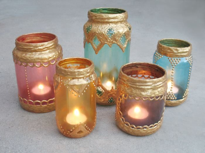 How To Decorate Glass Jars Alluring Candles In Glass Jars Inspiration Design