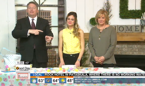 Easter Egg Arts & Crafts on Good Day Columbus {Fox 28} – 3/22/16