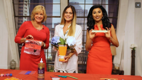 Back to School Arts & Crafts on Good Day Columbus { Fox 28 } – Studio 614