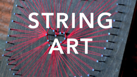 "Feb 11th, 2017: ""String Art"" @ Studio 614"