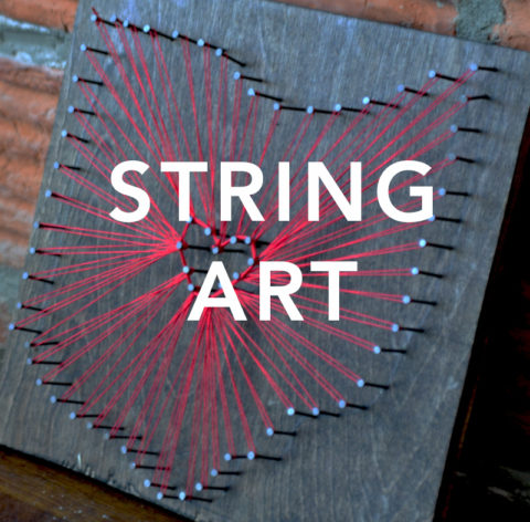 "August 27th, 2017: ""String Art"" @ Studio 614"