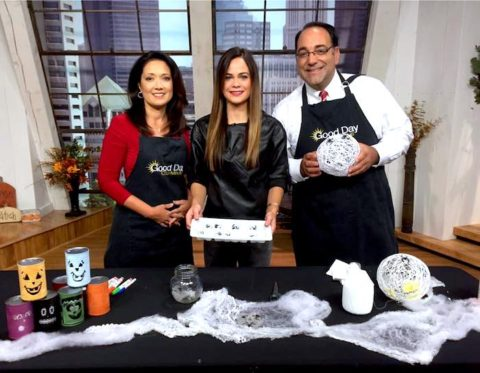 Halloween Crafts with Studio 614 on Good Day Columbus {Fox 28} – Pinterest Time!
