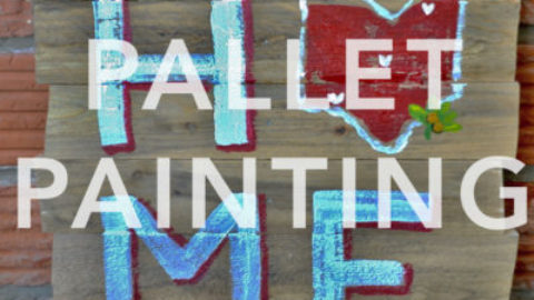 "March 21st, 2017: ""Wood Pallet Painting"" FUNDRAISER @ Studio 614"
