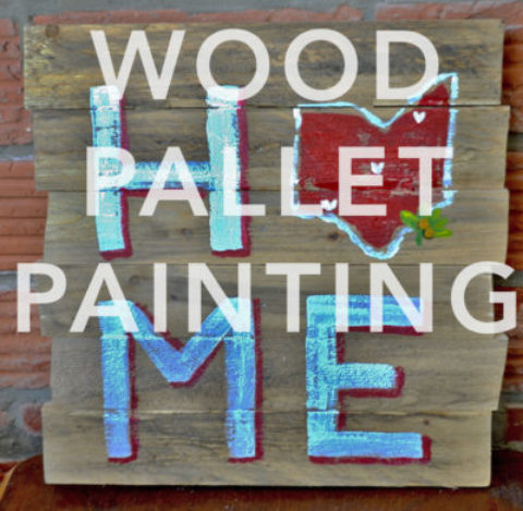April 21st, 2017: Wood Pallet Painting @ Studio 614