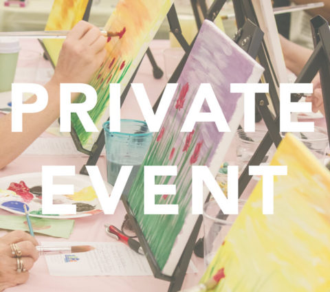 "April 18th, 2017: ""HR Circle Spring Meeting"" Painting Party with Studio 614"