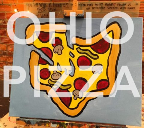 April 18th, 2017: Pizza & Paint Party @ Mikey's Late Night Slice (downtown)