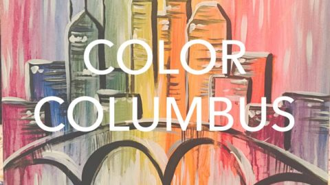 "May 14th, 2017: *MOM'S DAY* ""Color Columbus"" Canvas Painting @ Studio 614"