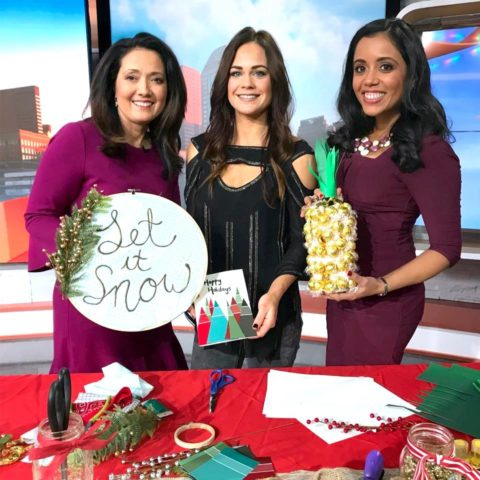 Last Minute DIY Holiday Gifts on Good Day Columbus {Fox 28} 12/17/17