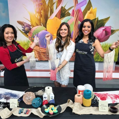 Easter Springtime Crafts with Meg on Good Day Columbus 3/31/18
