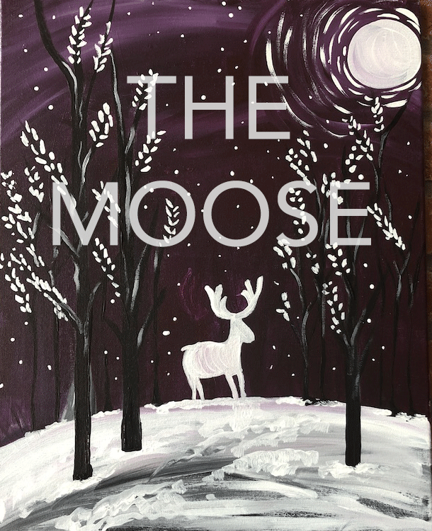 the moose studio 614 canvas painting