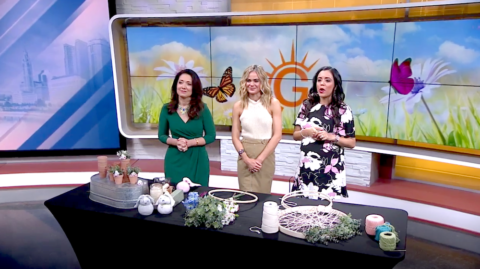 DIY Easter Projects with Megan Pando on Good Day Columbus {Fox 28} – 4/6/19