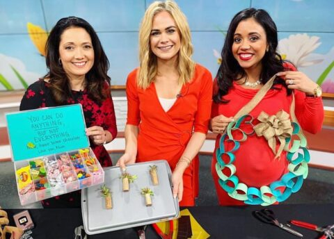 DIY Mother's Day Gifts with Megan Pando on Good Day Columbus {5/4/19}