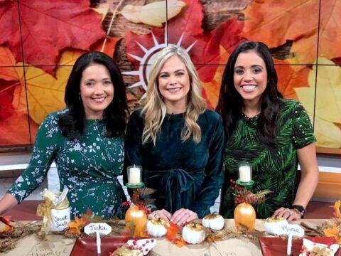 DIY Thanksgiving Table with Megan Pando on Good Day Columbus {Fox 28} – 11/24/19