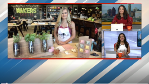 DIY Mother's Day Projects with Megan Pando on Good Day Columbus {Fox 28} – 5/9/20